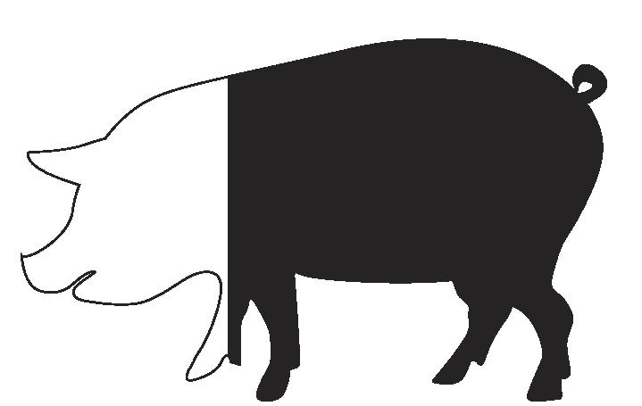 Cerdo 75% ibérico